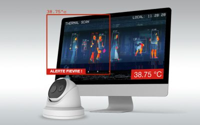 La caméra thermique pour détecter la fièvre